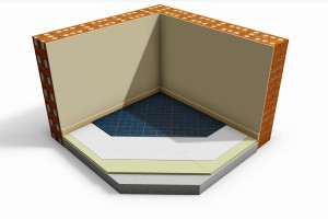 E-Therm slim floor insulation