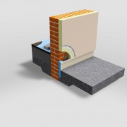Thermo Trac Cold Bridging Solution insulates below the DPM line