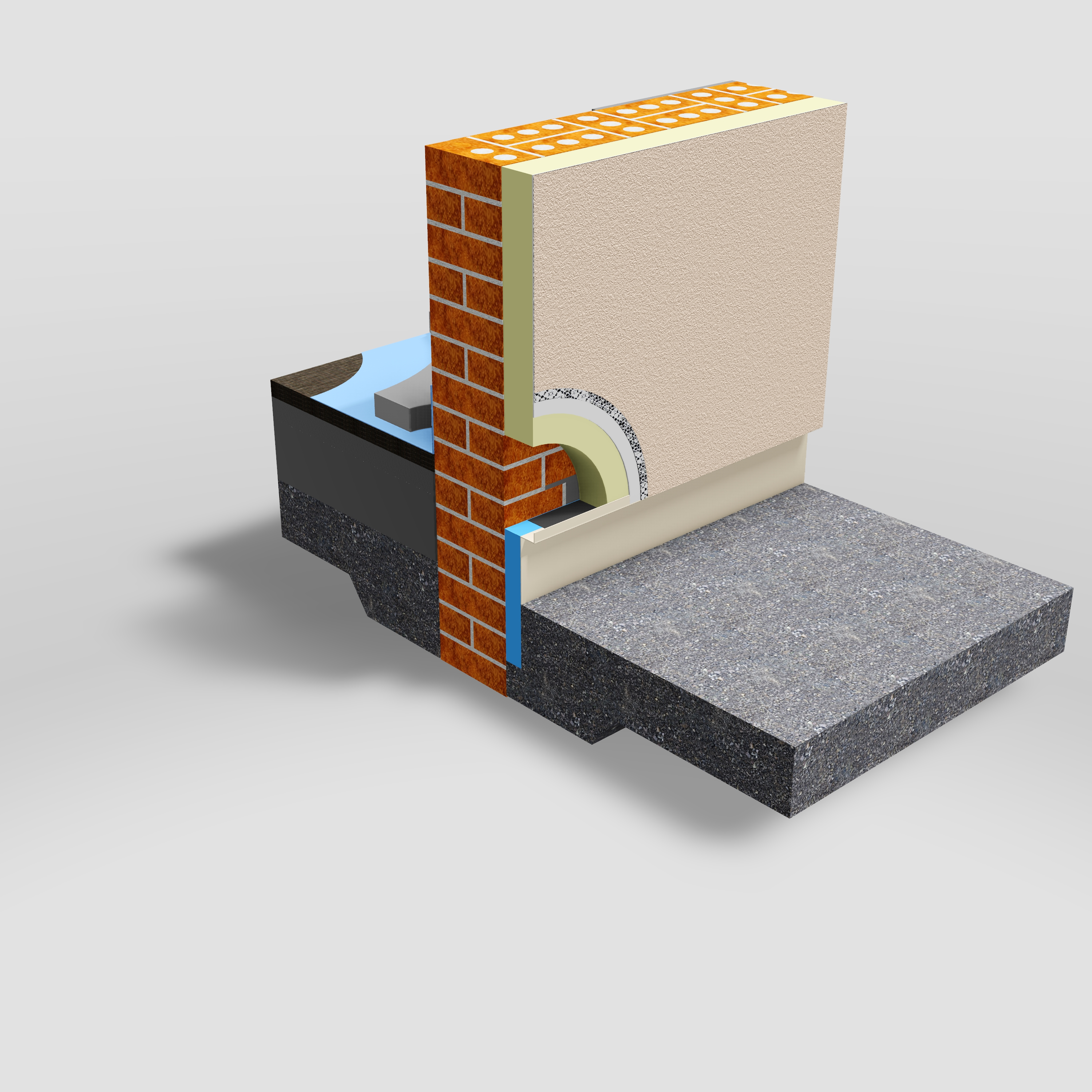 Thermo trac cold bridging insulation enviroform solutions for Cold floor insulation