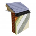 Thermo-Pro Insulated Continuous Gutter – black