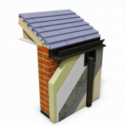 ThermoPro Insulated Continous Gutter with Outlet
