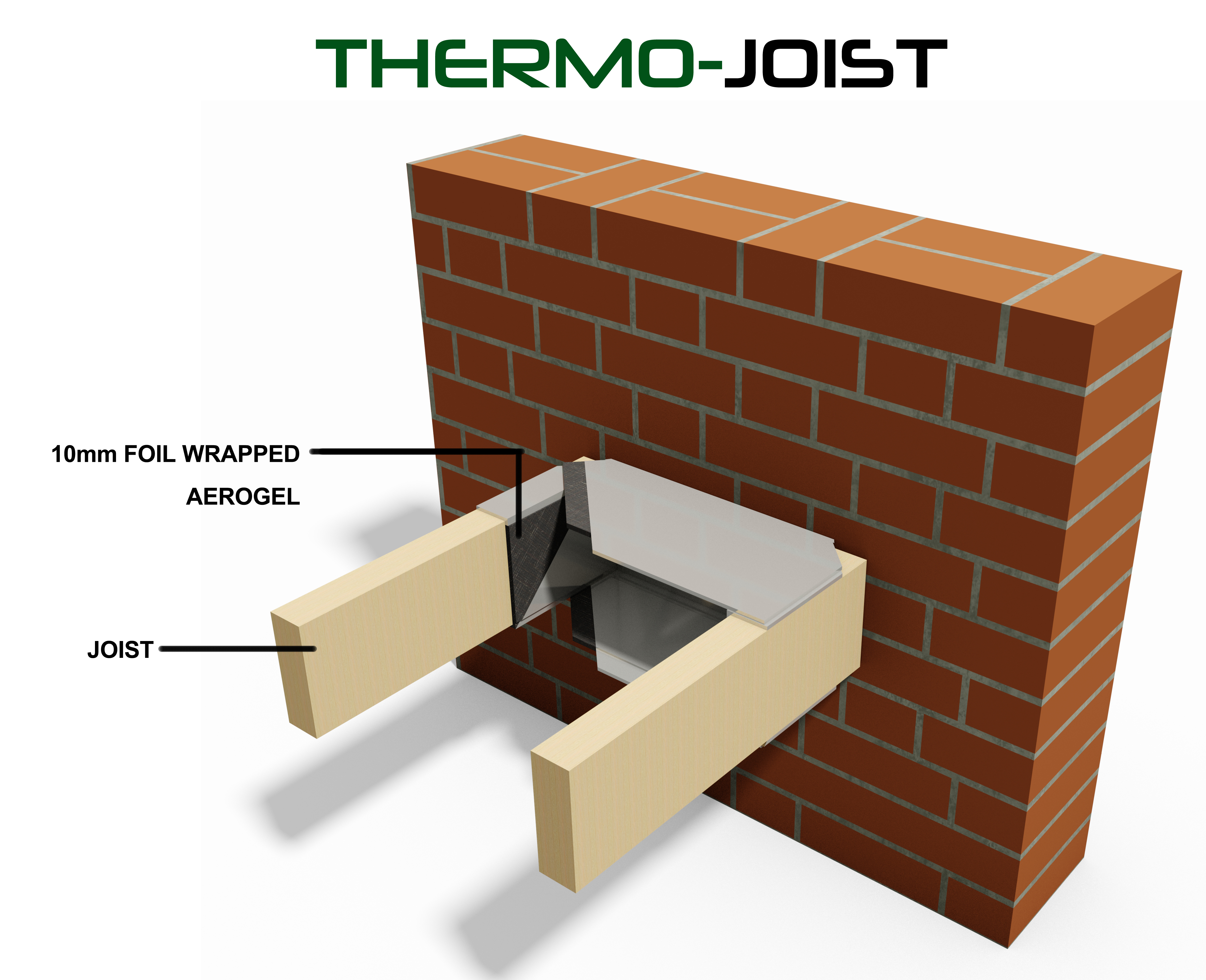 Thermojoist internal cold bridging enviroform solutions for Floor joist insulation