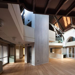 Heritage insulation retrofit by Enviroform Insulations. Spaceloft Aerogel Insulation and Duncairn Arts Centre